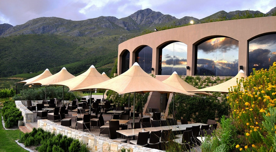Fine dining at La Roca