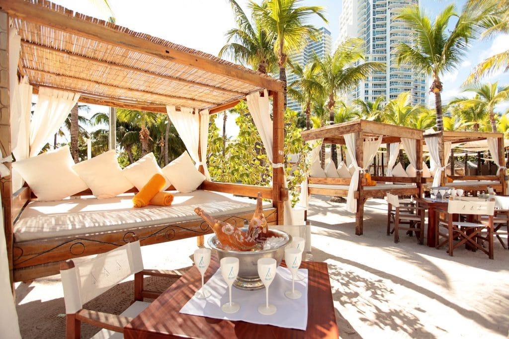 Beachclub in Miami