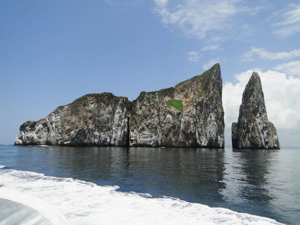 Kicker Rock Galapagos Islands, good spot for snorkling
