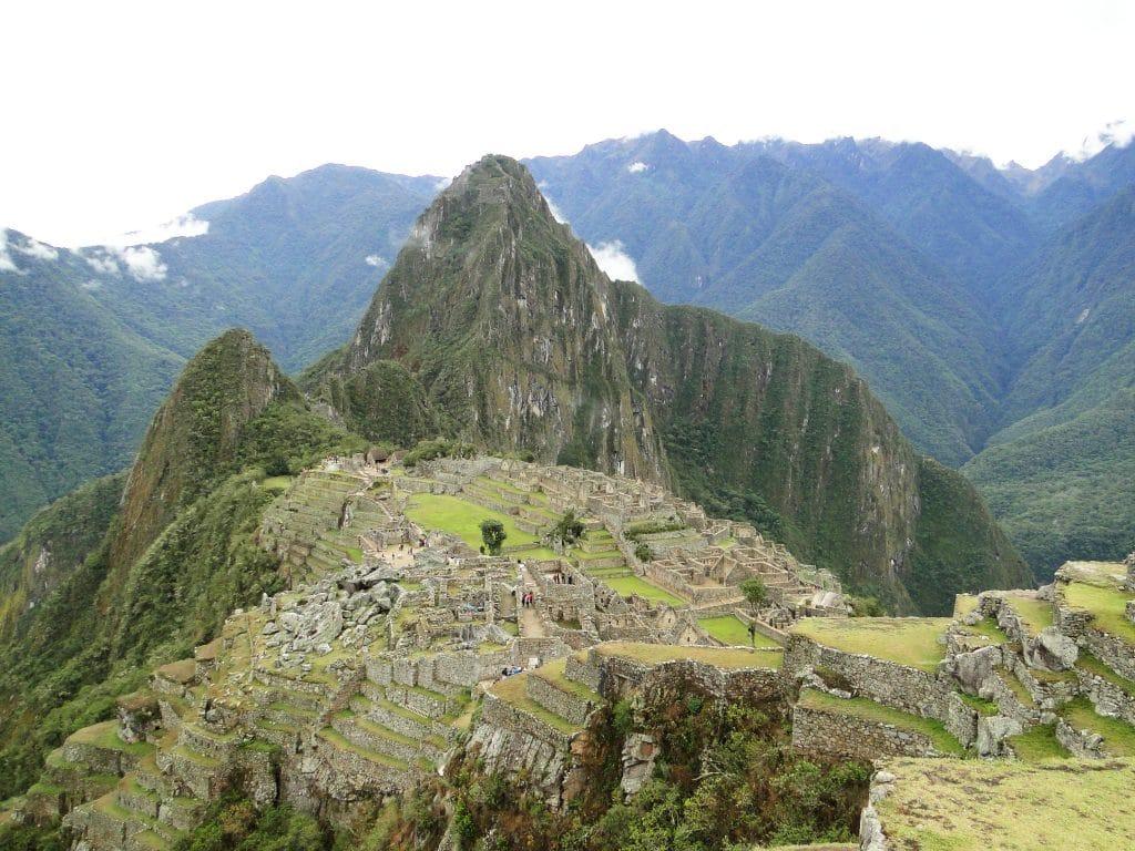 Machu Pichu in South America