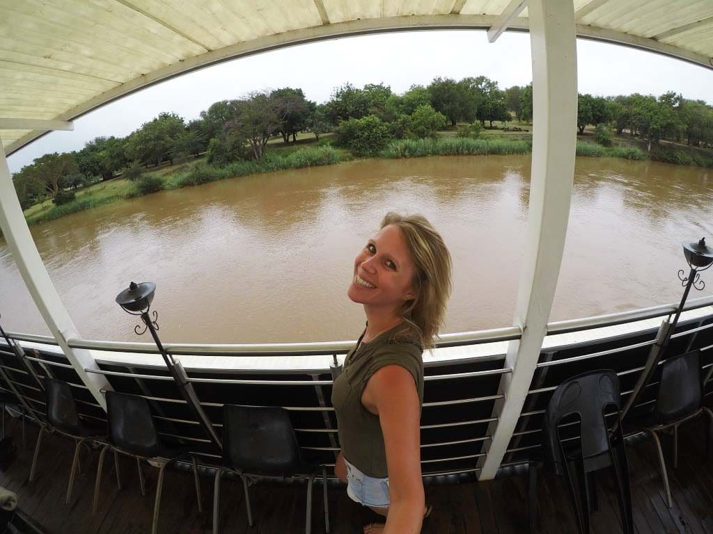 river safari at Olifants River