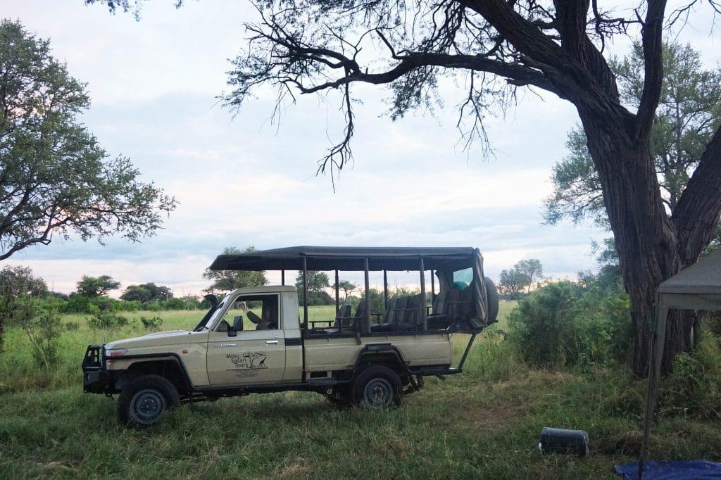 safari jeep Mosu Safari Tours