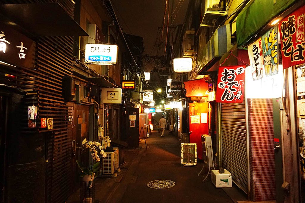 Small alley in golden Gai