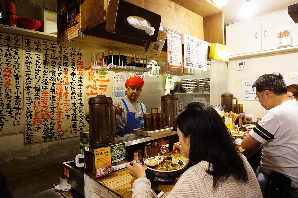 Small ramen restaurant in Golden Gai