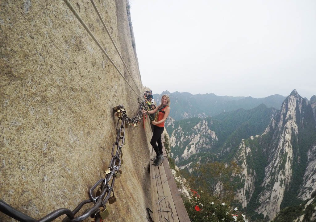 Hua Shan plank walk harness