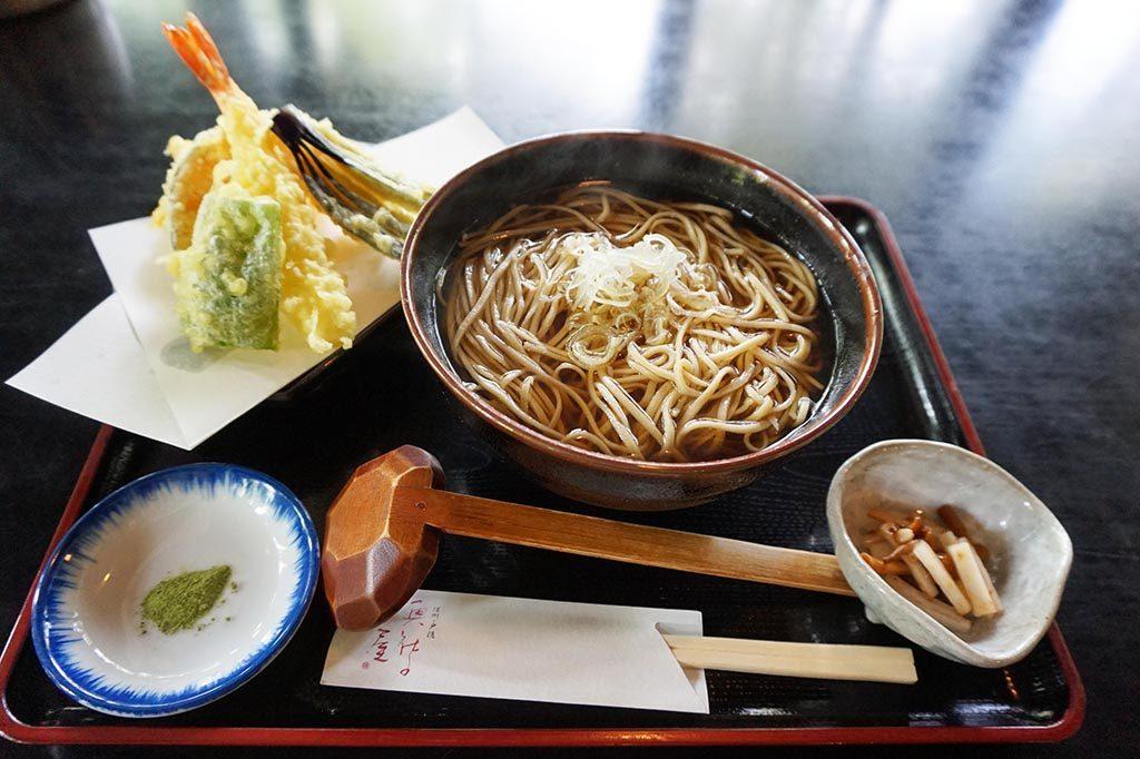 Popular Japanese food, Soba noodles