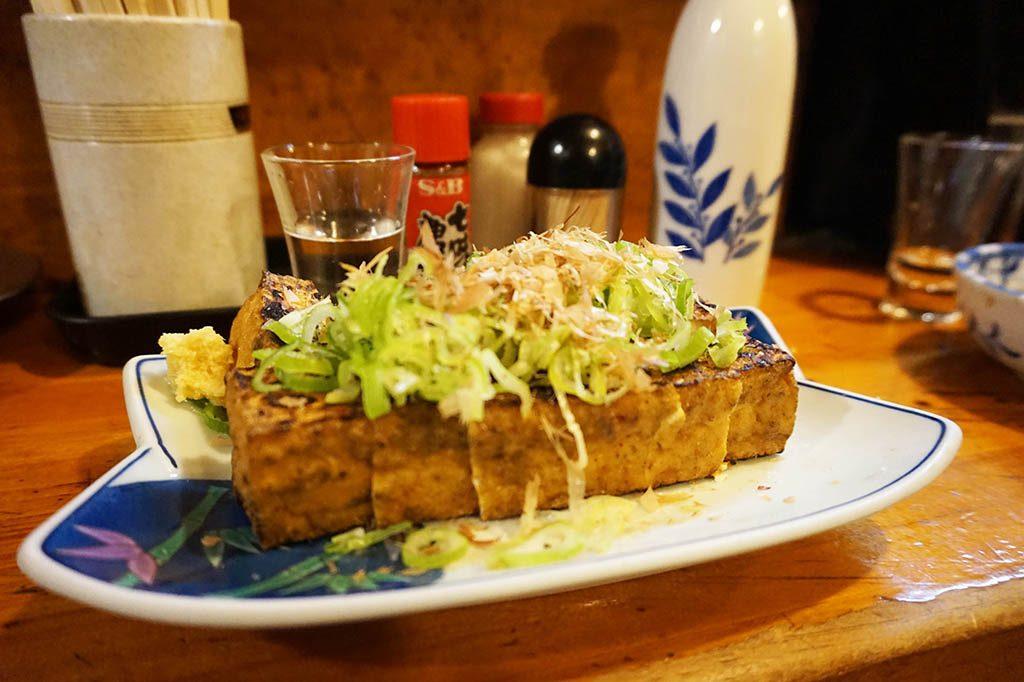 Fried Tofu with sauce