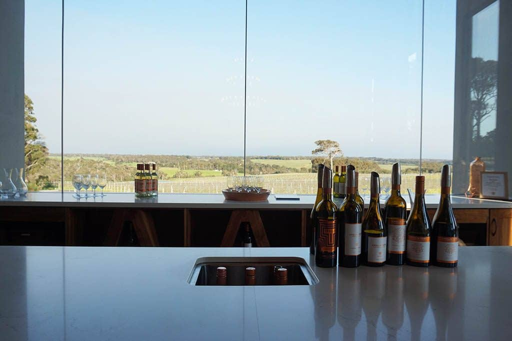 wine tasting area at Amelia park wines