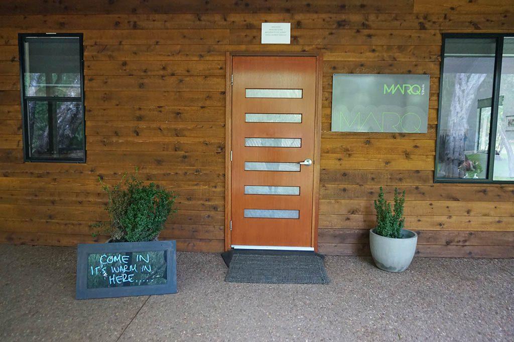entrance of Marq Wines in Margaret river wine region