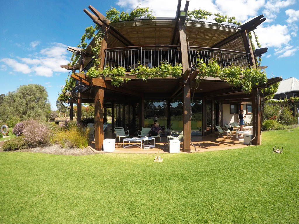 the wine lounge at vases Felix Margaret river wine region