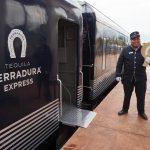 boarding the tequila herradura express train