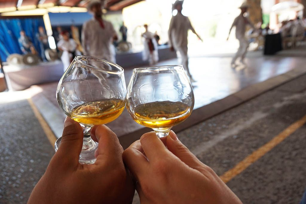 Salud to the tequila herradura express train tour