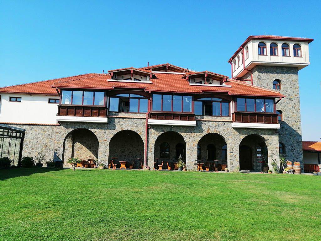 The tower of Popova Kula Winery