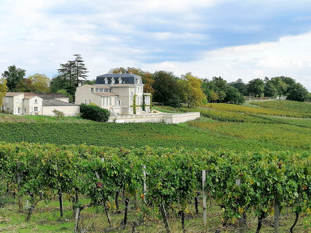 Beautiful view of chateau gaby