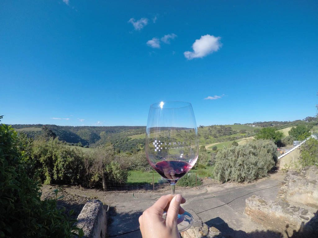 Raise the wine glass to Samuel's Gorge at McLaren Vale wineries